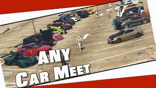 Just Bring a Car Meet GTA 5 Online | Garage Tour