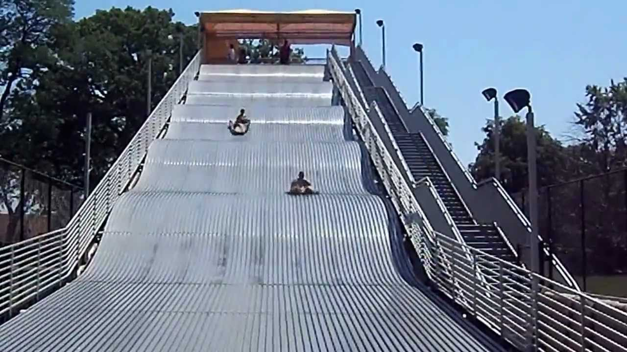 Wealth Building Network Builds With Youth The Giant Slide On Belle Isle In Detroit Michigan