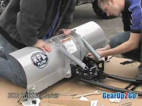 KFI ATV Snow Plow System From GearUp2Go