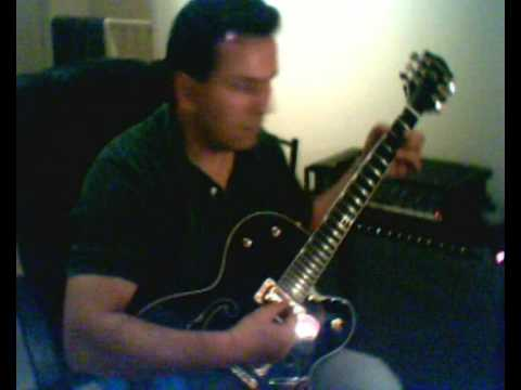 cliff gallup short clip by me of course (Gretsch 6120 BS)