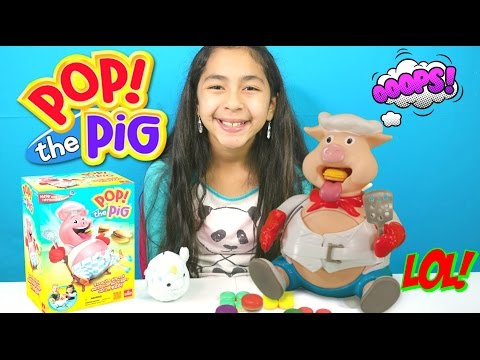 Pop! The Pig Game |Awesome Fun Family Games| B2cutecupcakes