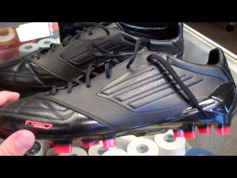 Adidas f50 adiZero (black/black/infrared) miCoach Unboxing and Review