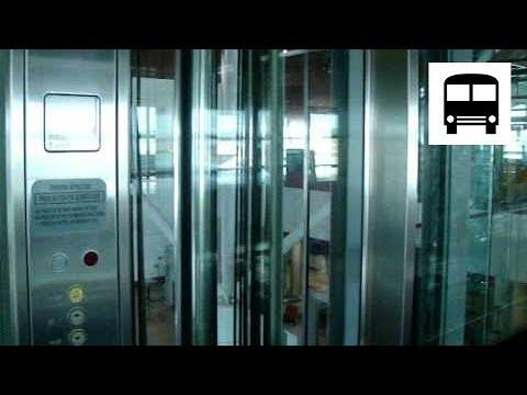 Kuala Lumpur International Airport - Schindler Panoramic Elevator