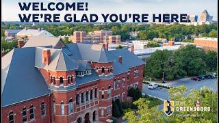 UNC Greensboro: Virtual Campus Tour Presentation