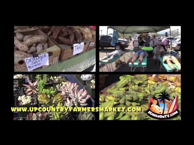 Upcountry Farmers Market - Kulamalu Town Center, Maui Hawaii