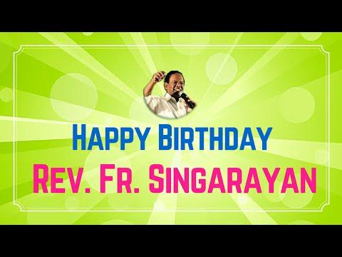 Happy Birthday Rev. Fr. Singarayan | 29th May - 2016 | Radio Veritas Tamil