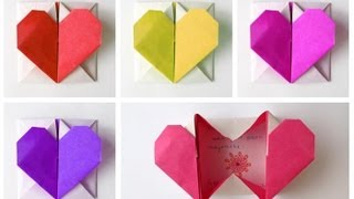 Easy Origami Heart-Box for Valentine