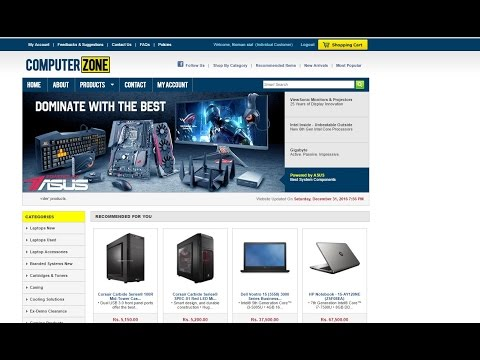Pakistan no 1 computer online store at cheap price (part # 1)