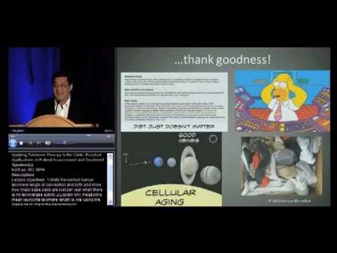 "2012 AMMG lecture: ""Telomeres and a new theory of aging"""
