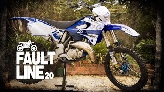 Out-take: YZ125 first ride on single track