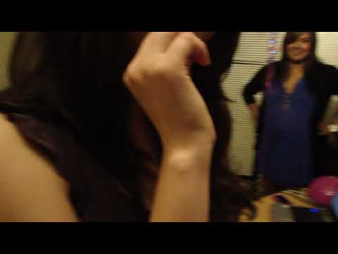 Singing Happy Birthday song on my 21st birthday!