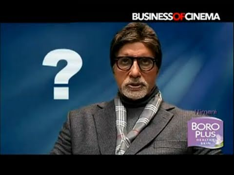 Behind The Scenes: Rajkumar Hirani directs Amitabh Bachchan in Boro Plus ad