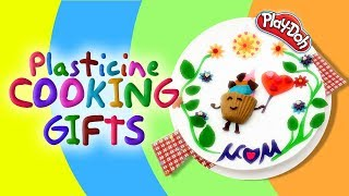 Favorite Plate. Nursery Rhymes And Learn Colors. Best Gifts For Mom with Play Doh