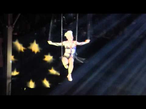 Pink The Truth About Love Tour Frankfurt Try