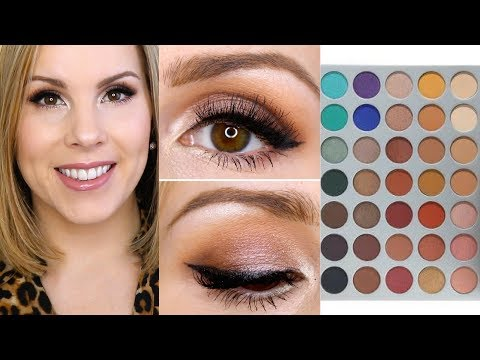 Morphe X Jaclyn Hill Palette Makeup Tutorial | Natural Eyes Tutorial #1