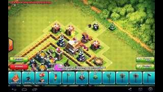 Clash of clans _ База для ТХ_6