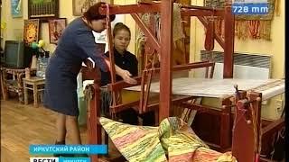 Старинной технологии ткачества обучают девочек в школе искусств в Иркутском районе