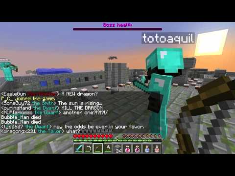 Dwarves vs Zombies with Etho Now with Dragons!