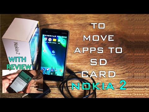 To move apps from phone to SD card in nokia 2/3/5/6/8 with review(convert SD into internal storage)