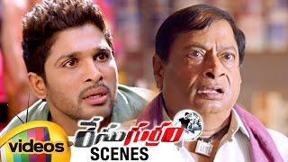 Race Gurram Movie Scenes | Allu Arjun Saves MS Narayana's Son | Shruti Haasan | Mango Videos
