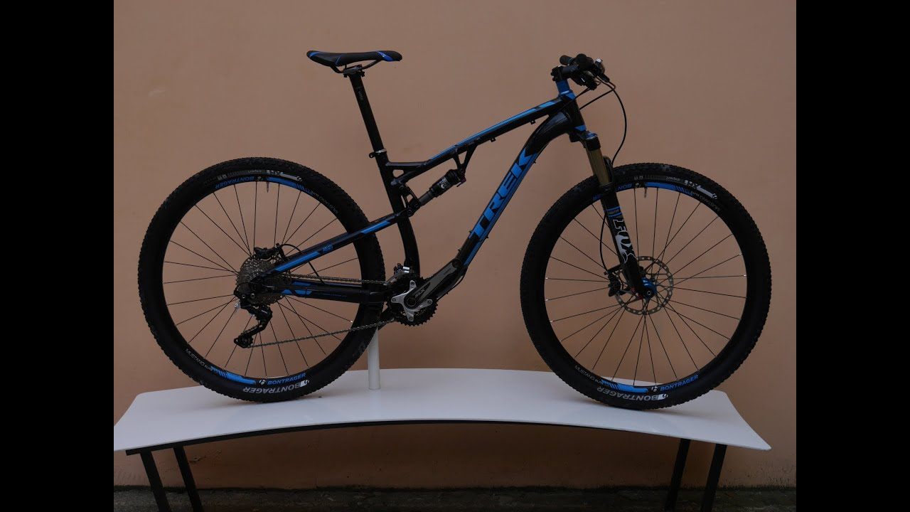 Bikes Trek Superfly 100u002f29er First Youtube TREK SUPERFLY FS
