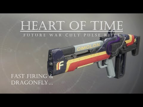 Destiny 2 - Heart of Time - FWC Pulse Rifle - PVP Gameplay Review