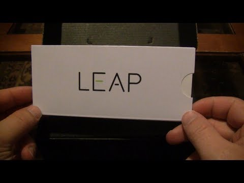 Leap Motion Controller Dev Unit Unboxing