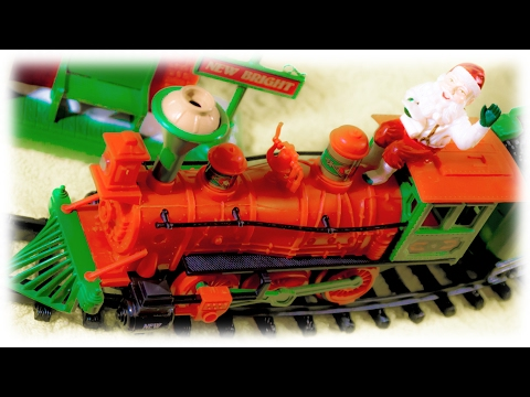 Video For Children - Christmas Express Toy Train With Santa Claus For Kids | Новогодний Экспресс video