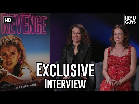 Matilda Lutz & Coralie Fargeat On Women Fighting Back In Revenge - Exclusive Interview