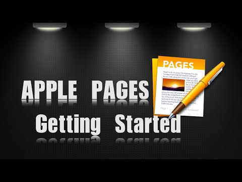 Apple Pages | Getting Started