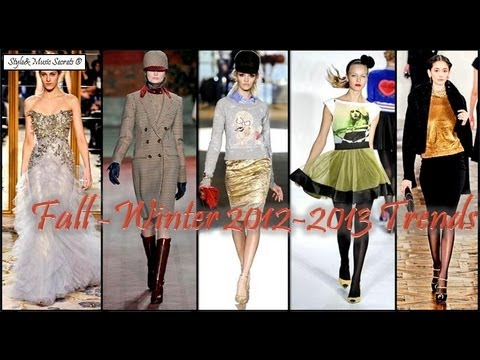 Fall-Winter 2012-2013 Trends