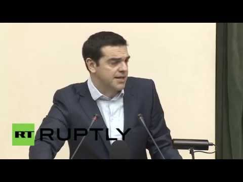 "Russia: ""We agreed to construct Greek pipeline for Russian gas"" - Greek PM Tsipras"