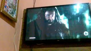 Mostrando o fiume na minha televisão