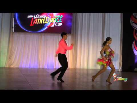 JESUS DONATO & VIVIANA VALLE, MEXICO, AMATEUR SALSA ON 2, FINAL ROUND, WLDC 2014