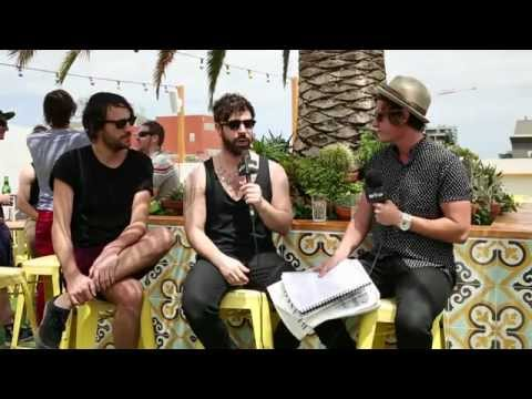 RIP IT UP TV interview with Foals