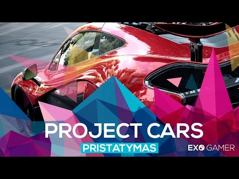 Project Cars - Pristatymas