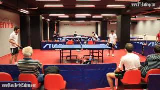 Masa Tenisi Backhand Top Spin Table Tennis