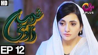 Ghareebzaadi - Episode 12 | A Plus ᴴᴰ Drama | Suzzaine Fatima, Shakeel Ahmed, Ghazala Kaife