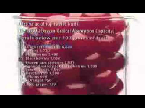 Cherry juice for insomnia & joint pain