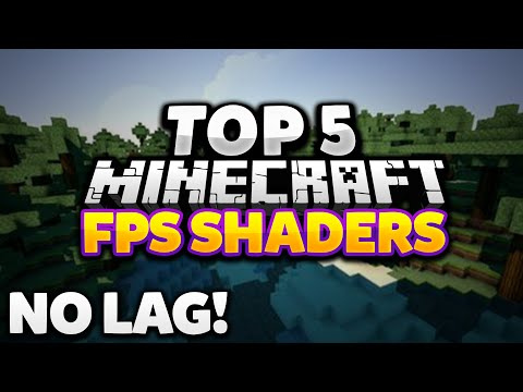TOP 5 MINECRAFT SHADER PACKS FOR HIGH FPS AND NO LAG!   2016 No Lag Shaders RuxPlay