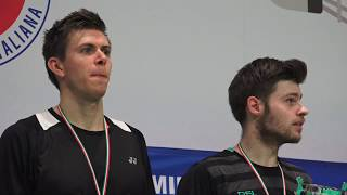 18° Yonex Italian international Finals: Mathias Bay.Smidt and Lasse Molhede