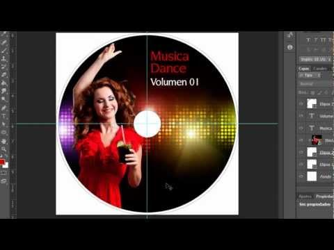 Photoshop Cs6 Diseño de CD o DVD by Yanko0