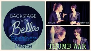 Backstage With Bella: Heather Peace