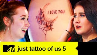 EP #3: Leigh Has An Important Question For Hattie In Emosh Reveal | Just Tattoo Of Us 5