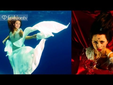 Epson Underwater Photo Shoot by Sharon Rainis - Eilat | FashionTV - FTV