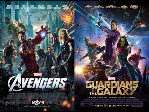 AMC Movie Talk - GUARDIANS And AVENGERS Team Up? Probably Not.