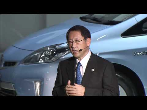 TOYOTA Press Briefing Part2 (English) - The 42nd Tokyo Motor Show 2011