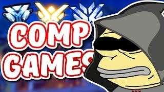 Overwatch - THE COMPETITIVE DEATHMATCH KING RETURNS (Funny Moments)