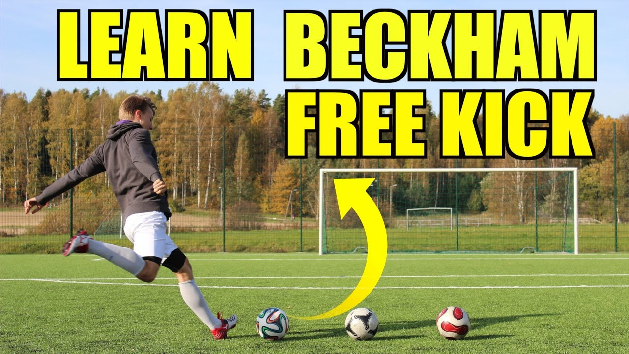 Bend The Ball Like Beckham How to Bend it Like Beckham