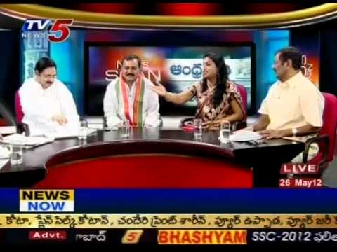 Debate on 'CBI Grills Jagan for Second Day in Assets Case'(TV5)-Part10